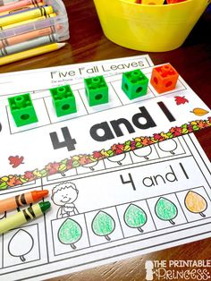 You're going to love these easy fall centers for Kindergarten students and homeschool families! Your students will practice both literacy and math skills to make this fall season the most fun yet! Between the apple and leaf activities included, your stude