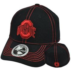 NCAA Ohio State Buckeyes Top of The World Hat Cap Flex Fit Endurance Constructed by Top of the World. $17.99. Official Licensed Product. FlexFit. 97% Acrylic 3% Spandex. Brand New Item with Tags. Flex Fit. 3D High Definition team logo embroidered on front panel. Contrasting stitching all around hat. Team logo embroidered on back panel. Constructed fit. Flex Fit, one size fits most. Authentic Top of the World merchandise. Officially Licensed Collegiate Product.. Save 31% Off!