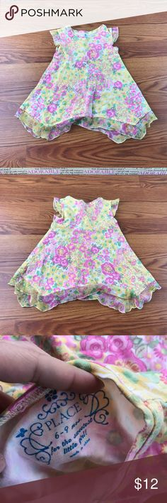 👗the place👗dress Flowered Children's Place Dresses