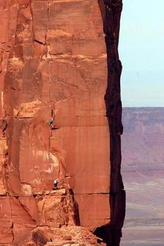 The third pitch of Fine Jade (5.11b), The Rectory, Castle Valley, Utah