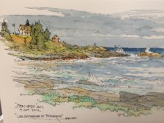 DON GETZ 'WATERCOLOR JOURNAL TOUR' OF THE USA ******I like his work...good site.