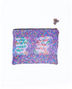 colorful woven cosmetic bag from The Little Market