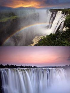 Victoria Falls, Africa | 83 Unreal Places You Thought Only Existed in Your Imagination | POPSUGAR Smart Living