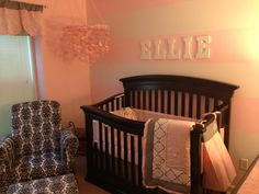Our baby girls nursery