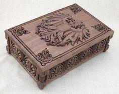Fleur de vie  petite boîte à bijoux boîte de par BulgarMaster