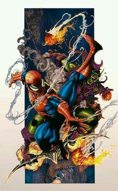 Comics Spiderman, All Spiderman, Marvel Comics Art, Ms Marvel, Marvel Heroes, Comic Book Characters, Comic Character, Comic Books Art, Book Art