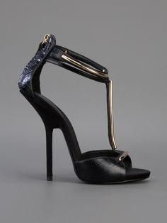 Giuseppe Zanotti Design Sandália Preta. - Biondini - Farfetch.com.br