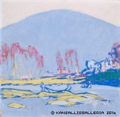 Italian Landscape by Ellen Thesleff Female Painters, Magical Images, Landscape Artwork, Scandinavian Art, Museum Of Contemporary Art, London Art, Western Art, Japanese Art, Painting Inspiration