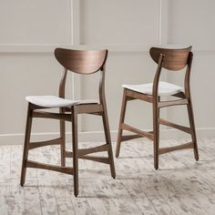 Shop Wayfair for all the best Mid-Century Modern Bar Stools. Enjoy Free Shipping on most stuff, even big stuff. Counter Chair, Wood Counter Stools, 24 Bar Stools, Bar Counter, Kitchen Islands, Stools For Kitchen Island, Lund, Oak Chairs, Dining Chairs