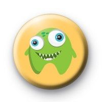 Extra Cute Green Monster Badges  Button Badges £0.85