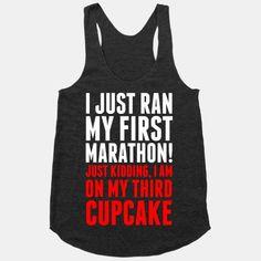 I Just Ran my First Marathon.... #fitness #antifitness #lazy