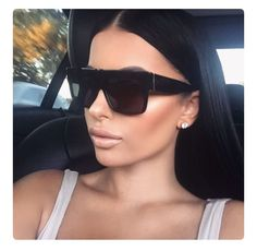 e940415f83482 Luxury Brand Designer Kim Kardashian Shades Fat Top Sunglasses Women Retro  Sun Glasses for Men Gafas Oculos De Sol Feminino