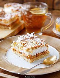 Szarlotkowa rozpusta na Stylowi.pl Polish Desserts, Polish Recipes, Polish Food, Dessert Drinks, Party Desserts, Potica Bread Recipe, Cake Recipes, Dessert Recipes, Dessert Ideas