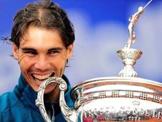 After Barcelona 2013 , Rafa Nadal became the first player in the Open Era to win two tournaments eight times .. History !!@dmvc