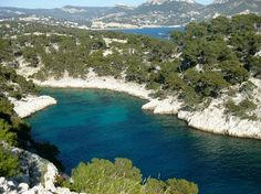 Provence, France: View of Calanque de Point-Pin