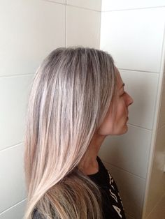 Grey is the new blonde | + 12 months