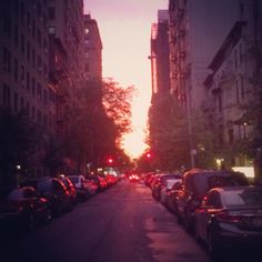 The perfect NYC sunset