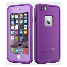 LifeProof fre Case for iPhone 6 Pumped Purple Verizon ($90) ❤ liked on Polyvore featuring accessories and tech accessories