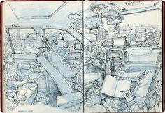 Sketch Master Ilustrator, Kim Jung Gi Art Gallery