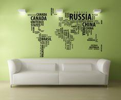 Harta lumii speciala