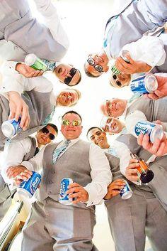 Awesome Groomsmen Photos You Cant Miss ❤ See more: http://www.weddingforward.com/groomsmen-photos/ #weddings #weddingphotography