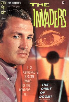 The Invaders 1967 comic book — Roy Thinnes as 'David Vincent' (1967-68, ABC)