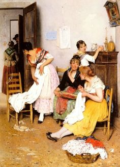 Eugene de Blaas 1843 -1931 | Austrian Academic painter