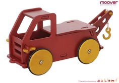 Buy Moover Baby Truck - Red online and save! Your Baby's first ride-on toy Moover Baby Truck will be your child's favorite toy. The Moover Baby Truck is specially designed for very young childre. Wooden Ride On Toys, Wooden Truck, Wooden Baby Toys, Toddler Toys, Kids Toys, Montessori Toddler, Toddler Fun, Baby Ride On, Developmental Toys
