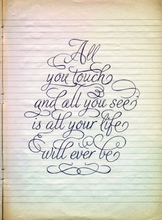 penwork - I saw this and thought, that's kinda depressing and then I went, Hey, that's pink floyd lol