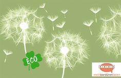 """Bordüren - Eco Bordüre: """"Pusteblume"""" • Farbauswahl - ein Designerstück von meinBorduerenladen bei DaWanda"""