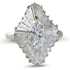 Diamond ballerina ring, Heyman Brothers
