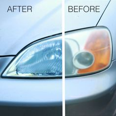 Dirty Car Headlights Are No Match For This Clever Cleaning Hack - Stephan Richter - Limpieza Car Cleaning Hacks, Deep Cleaning Tips, Car Hacks, Toilet Cleaning, House Cleaning Tips, Cleaning Solutions, Spring Cleaning, Car Life Hacks, Cleaning Products