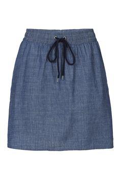 http://www.recolution.de/fair-trade-jeans-rock-w-mini-denim-light-blue/