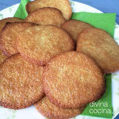 pastas-de-naranja-y-canela Veggie Recipes, Sweet Recipes, Cookie Recipes, Cake Cookies, Cupcake Cakes, Cooking Cookies, Coconut Cookies, Breakfast Dessert, Mini Foods
