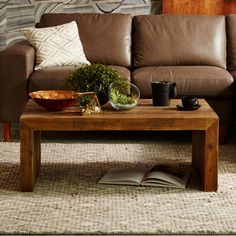 Emmerson Reclaimed Wood Coffee Table | west elm