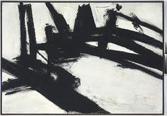 """Franz Kline  """"Untitled,"""" 1957"""