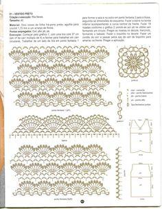 Схема блузки