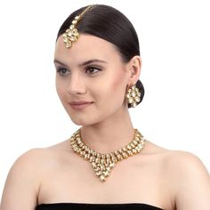 Product Features : Color: Gold Material: Kundan Product Size: 20 cm x 5 cm x cm x cm mt Product Care: Keep Away From Moist Fashion Jewelry Stores, Fashion Jewellery, Necklace Set, Pearl Necklace, Kundan Jewellery Set, Jewelry Sets, Women Jewelry, Gold Material, Jewels