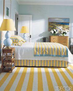 Summer House Design Inspiration - Summer bedroom Ideas - ELLE DECOR