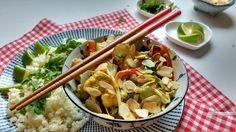 De paksoi curry schotel smaakt lekker Oosters en toch zacht en romig door de…