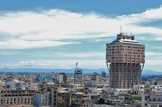 377  Torre Velasca vista dal duomo, Torre Velasca, Milano, Lombardia - Foto di Cinzia Di Stasio