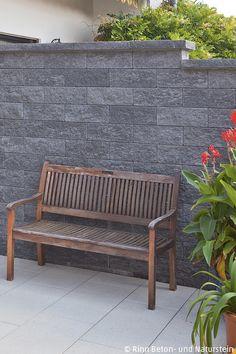 Mauerverkleidung im aussenbereich aus kunststoff garten for Gartengestaltung zum nachbarn