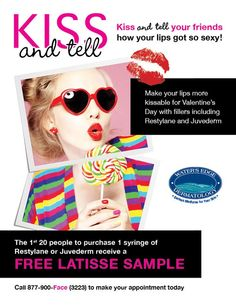 Want kissable lips this Valentine's day? Here's your opportunity!
