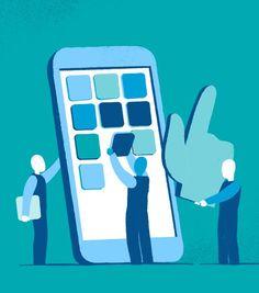 Scarica Gratis Creazione di Applicazioni Mobile illustrazione di Mirko Grisendi