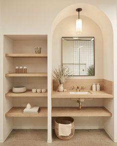 Bathroom Design Inspiration, Bathroom Interior Design, Home Decor Inspiration, Dream Home Design, New Homes, House Styles, Bathroom Ideas, Bathroom Plans, Bathroom Inspo