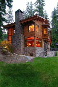 Ideas For Exterior Design House Modern Cabin