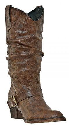 Dingo Pretender Dark Brown Women's western boots