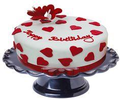 Awesome Image of Birthday Cake Images Free . Birthday Cake Images Free 1 Kg Red White Birthday Cake Floral Mall Red Birthday Cakes, Heart Birthday Cake, Image Birthday Cake, Happy Birthday Cake Pictures, Special Birthday Cakes, Birthday Cake With Photo, Free Birthday, Birthday Wishes, February Birthday