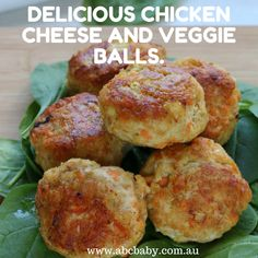 Delicious Chicken Cheese And Veggie Balls