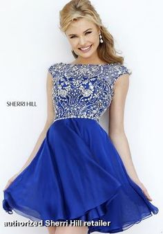 Sherri Hill Fall Homecoming Prom Collection - 32320